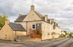 Arms国王酒家在Didmarton,科茨沃尔德,英国 免版税库存照片