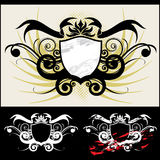 Arms. The vector royal arms and ornament vector illustration