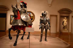 Arms and Armor - Art Museum Stock Image