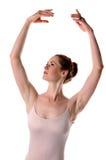 arms att lyfta för ballerina royaltyfri fotografi