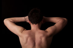 Arms and back Royalty Free Stock Photos