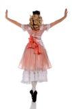 arms ballerinafördjupning arkivbilder