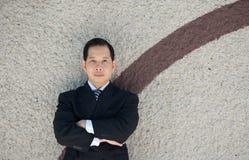 arms businessman crossed posing Στοκ Φωτογραφίες