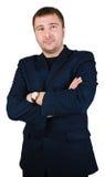 arms businessman fold his Στοκ εικόνα με δικαίωμα ελεύθερης χρήσης