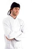 arms chef folded smiling Στοκ Φωτογραφία