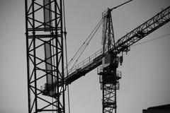 Arms cranes Stock Photo