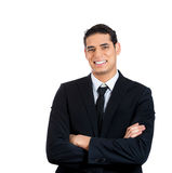Arms crossed, confident businessperson Stock Image
