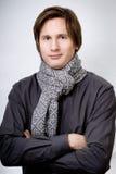 arms crossed handsome man Στοκ εικόνα με δικαίωμα ελεύθερης χρήσης
