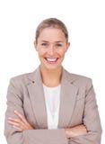arms den executive kvinnlign vikta radianten arkivfoton