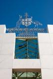 arms det Australien laget royaltyfri fotografi
