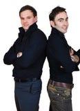 arms fold friends group smiling Στοκ φωτογραφία με δικαίωμα ελεύθερης χρήσης