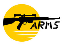 Arms icon Stock Photography