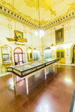 Arms museum inside the Junagarh fort in Bikaner Royalty Free Stock Photo