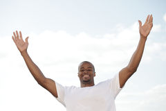 Arms outstretched Royalty Free Stock Photography
