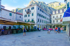 Arms Square, Kotor Royalty Free Stock Photography