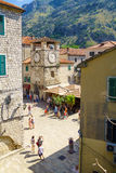 Arms Square, Kotor Royalty Free Stock Photo