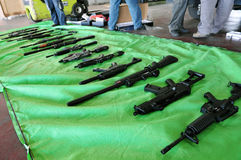 Arms trafficking Royalty Free Stock Photography