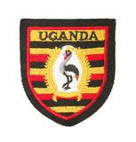The arms of Uganda Royalty Free Stock Images