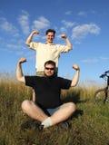 Arms up Stock Photos
