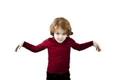 Arms wide open child Stock Photos
