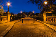 Armstrong Bridge at dawn Stock Photography