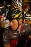 armstrong cyklistlance s u Arkivbilder