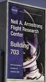 Armstrong Flight Research Center in Palmdale, California royalty free stock image