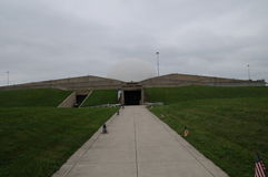 Armstrong-Luft und -Weltraummuseum in Ohio stockfoto