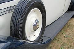 Armstrong siddeley spare tyre Stock Image