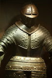 Armure chevaleresque en acier Photo libre de droits
