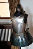 Armure dans la forteresse de Fagaras, comté de Brasov Photo stock