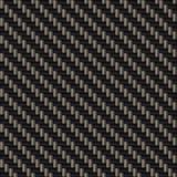 Armure diagonale de fibre de carbone image stock