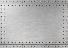 Armure en métal avec des rivets image libre de droits