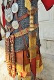 Armure romaine de fer de guerrier Photographie stock libre de droits
