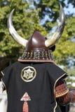 Armure samouraï japonaise de tradition images stock
