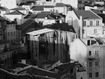 Armut in Lissabon, Portugal stockbilder