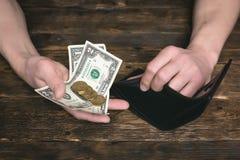 armut schulden sparungen stockfotografie