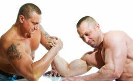 Armwrestling Στοκ Φωτογραφία