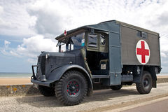 Army ambulance Stock Image