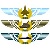 Army badges-4 Royalty Free Stock Photography