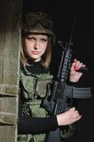 Army beauty Stock Images