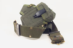 Army belt Stock Image