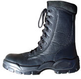 Army Boot. Profile of an army boot Royalty Free Stock Photography