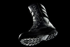 Army boot Stock Image