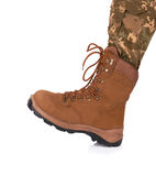 Army boot Royalty Free Stock Image