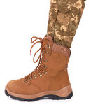 Army boot Stock Images