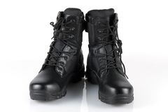 Army boots Stock Images