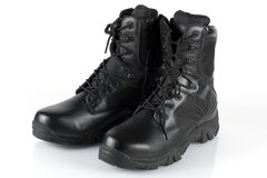 Army boots Stock Photos