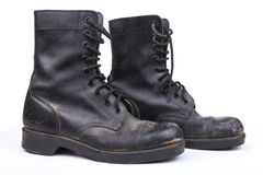 Army Boots Stock Photography