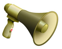 Army Bullhorn Military Megaphone Royalty Free Stock Images